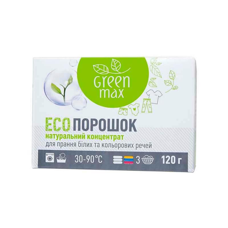 Стиральный порошок Натуральный Green max 120 г