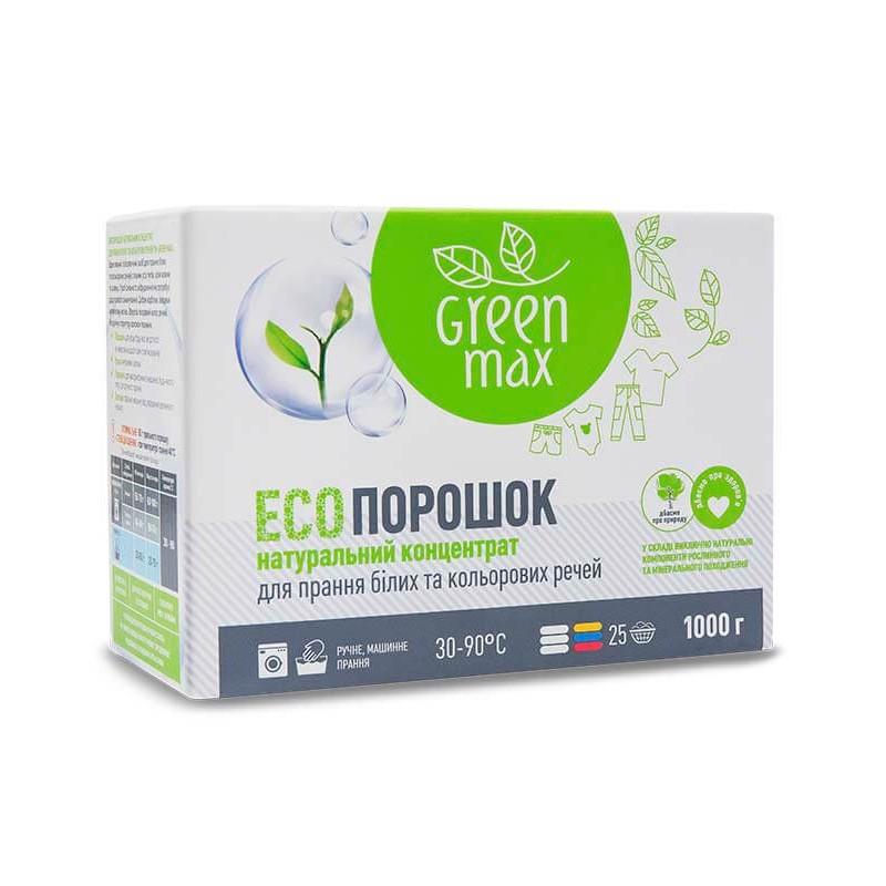 Стиральный порошок Натуральный Green max 1000 г