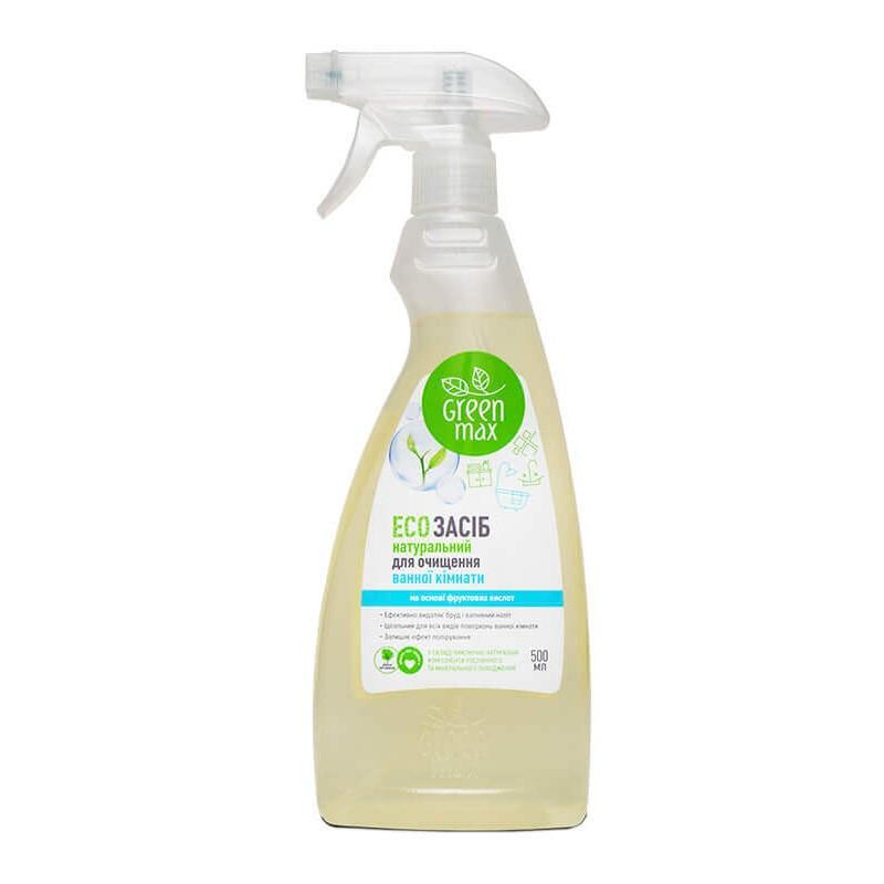 Чистящее средство для ванной комнаты Green Max 500 мл