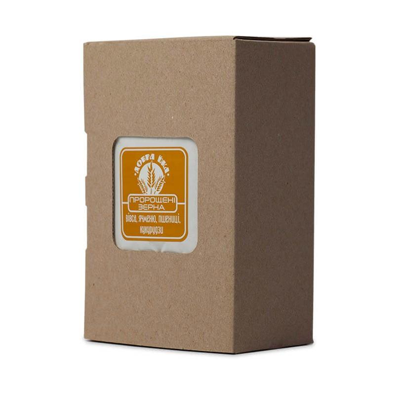 Пророщенные зерна в коробке 300 г