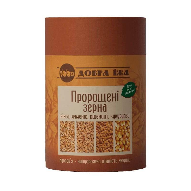 Пророщенные зерна в тубусе 300 г
