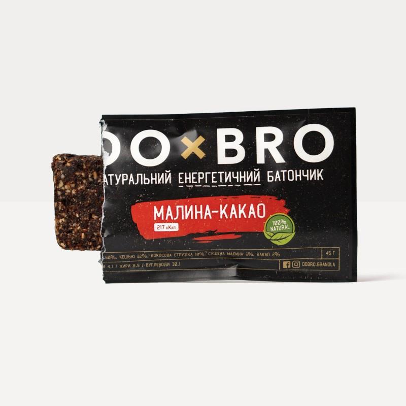 Батончик Малина-какао Dobro