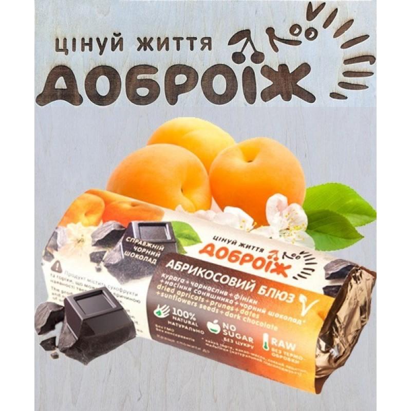 Батончик Абрикосовый блюз в шоколаде Доброїж