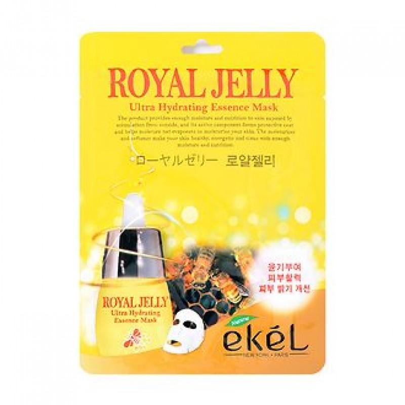 Тканевая маска Питательная с пчелиным маточным молочком Ekel
