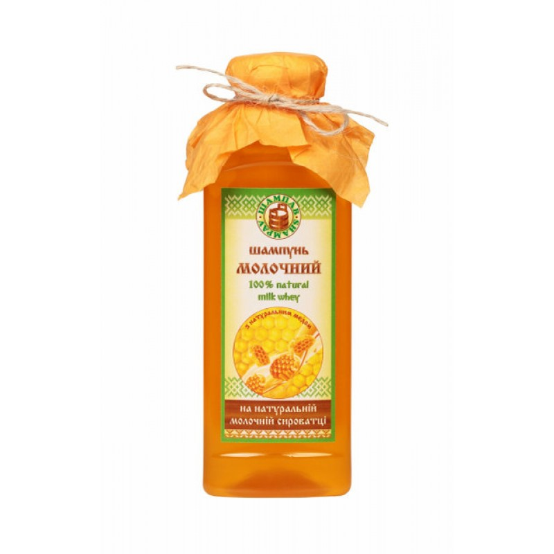 Шампунь Молочный с натуральным мёдом 380 мл
