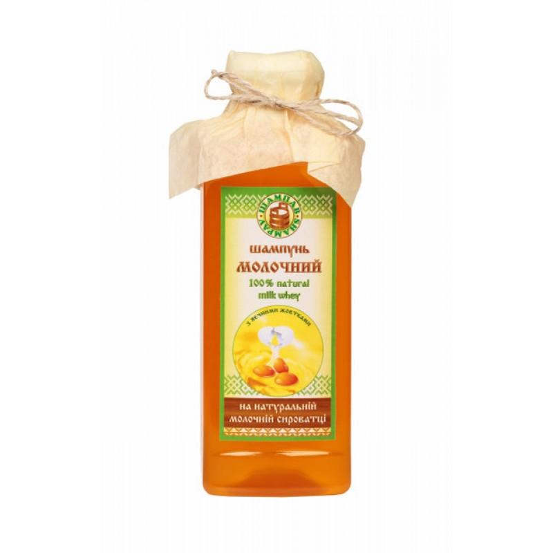 Шампунь Молочный с экстрактом яичных желтков 380 мл