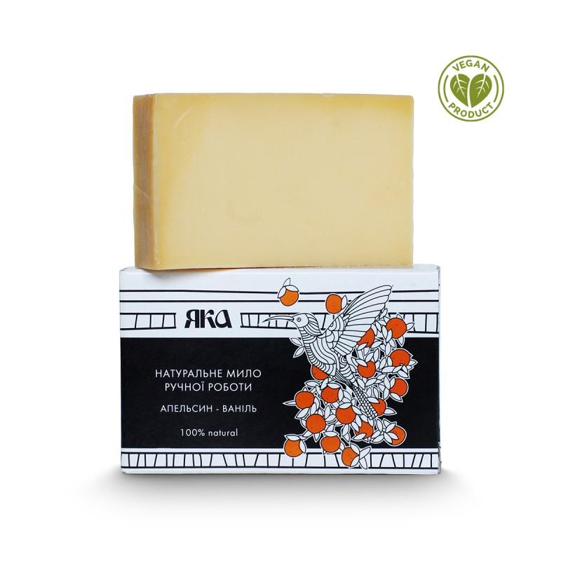 Мыло Апельсин и ваниль  75 г